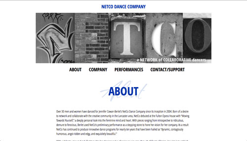 netcodance.com screenshot